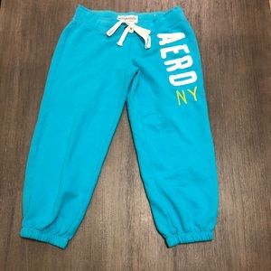 Brand New Aeropostale cropped sweatpants
